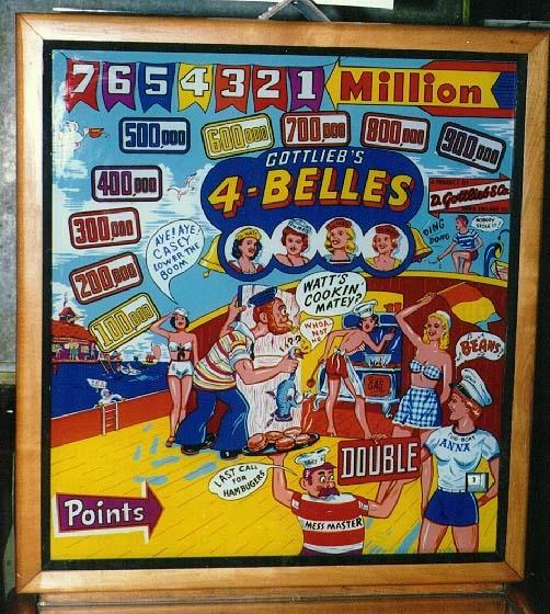 4-Belles Pinball Mods