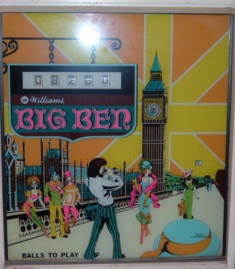 Big Ben Pinball Mods