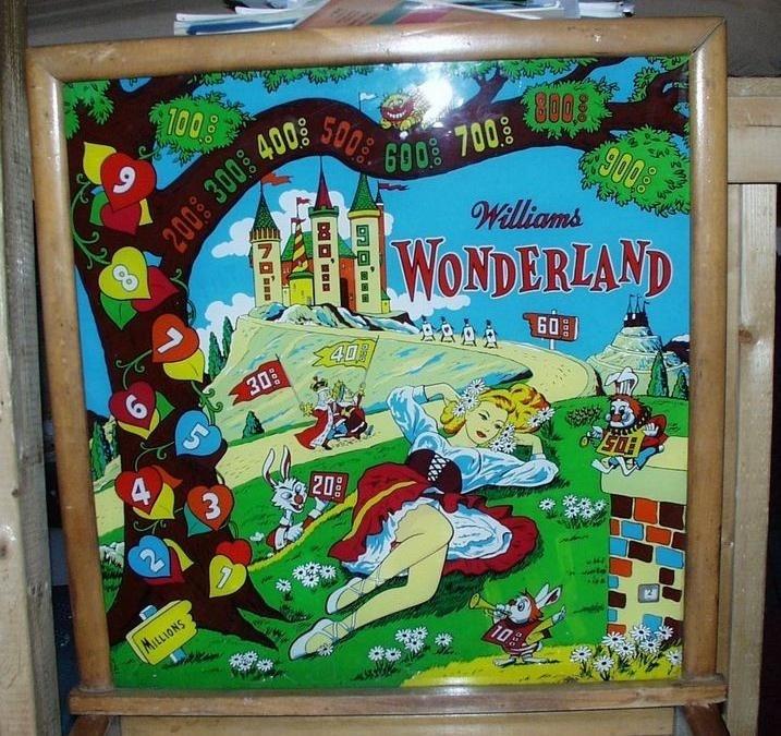 Wonderland Pinball Mods