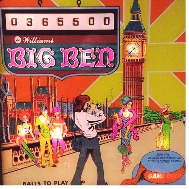 Big Ben (Add-a-Ball) Pinball Mods