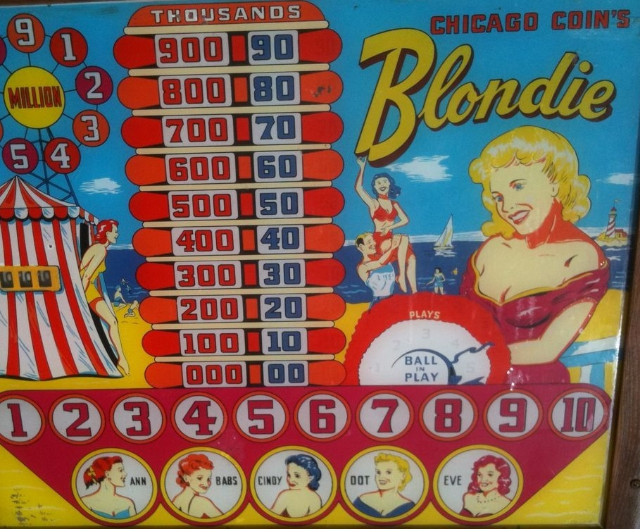 Blondie Pinball Mods