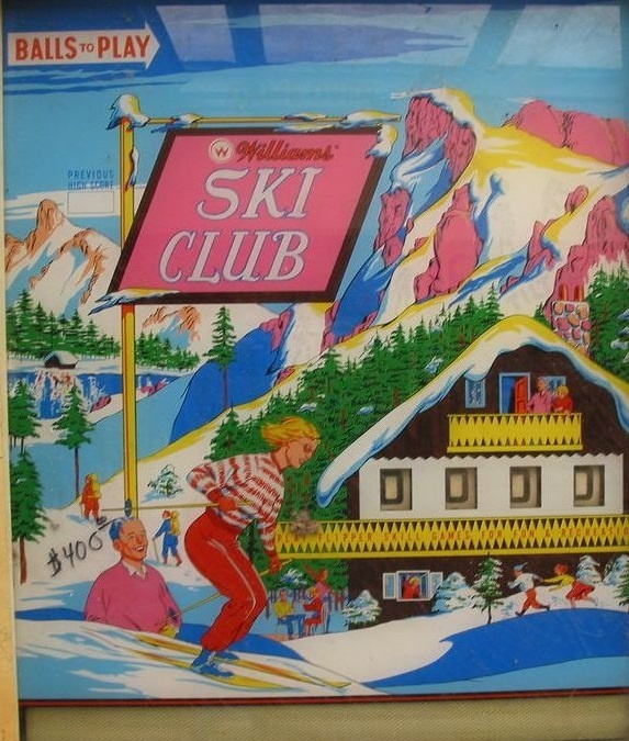 Ski Club Pinball Mods