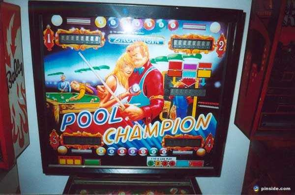 Pool Champion Pinball Mods