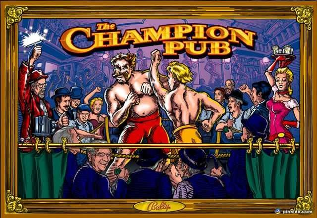 Champion Pub Pinball Mods