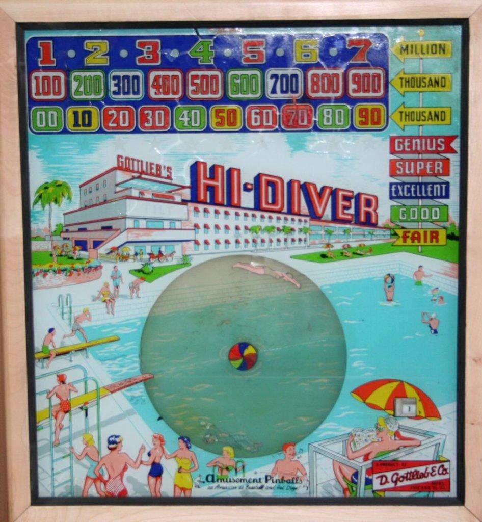 Hi-Diver Pinball Mods
