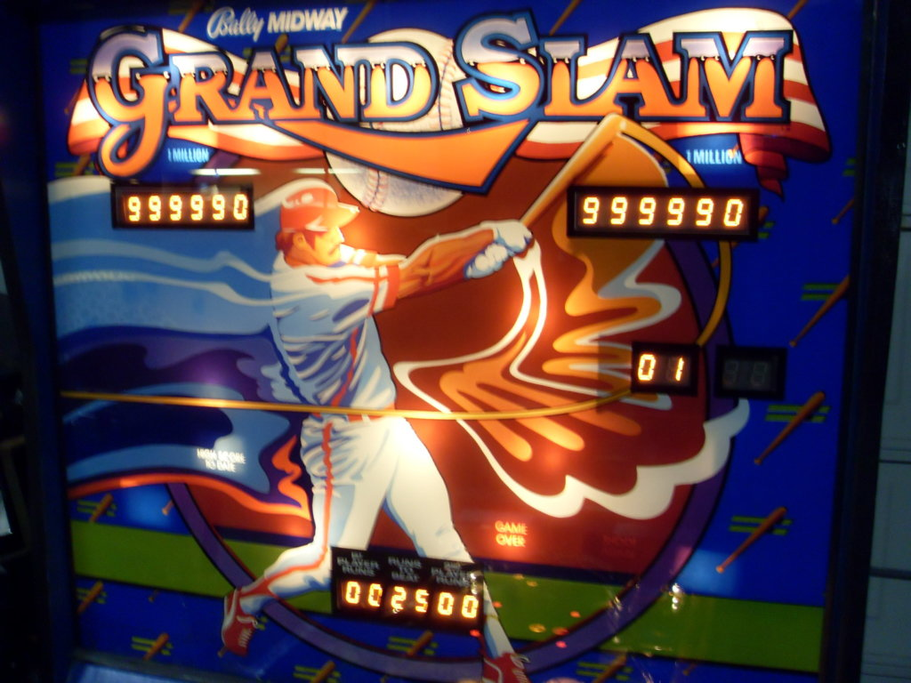 Grand Slam Pinball Mods
