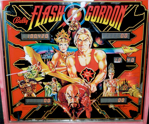 Flash Gordon Pinball Mods