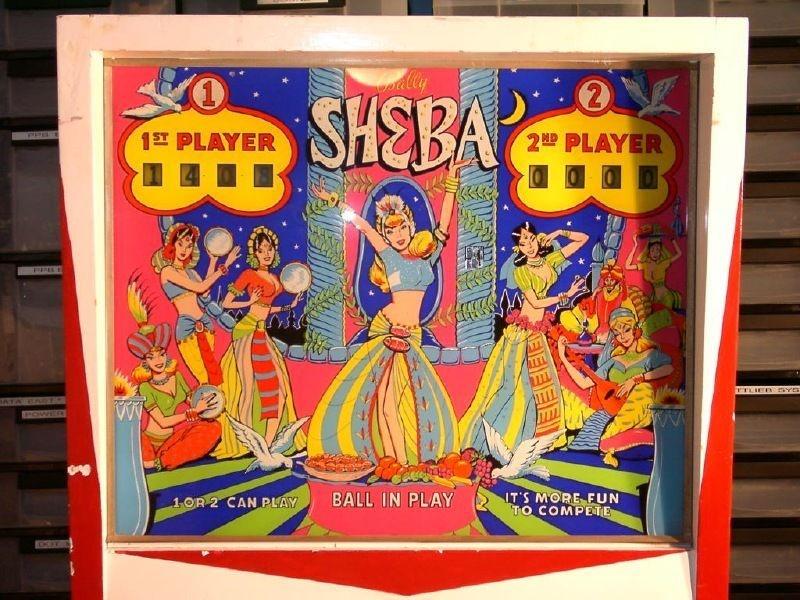 Sheba Pinball Mods