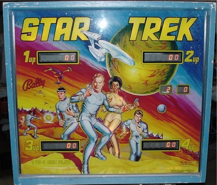 Star Trek Pinball Mods