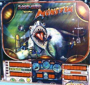 Loch Ness Monster Pinball Mods