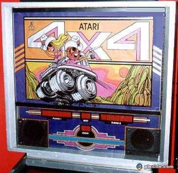4X4 Pinball Mods