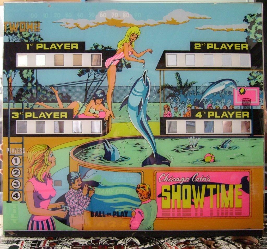 Showtime Pinball Mods