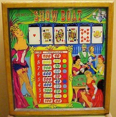 Show Boat Pinball Mods