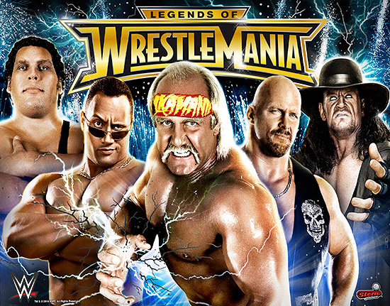 WWE Wrestlemania LE (Legends of Wrestlemania) Pinball Mods