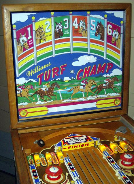 Turf Champ Pinball Mods