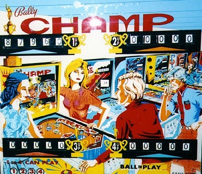 Champ Pinball Mods