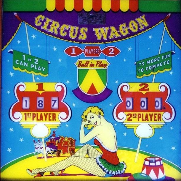 Circus Wagon Pinball Mods