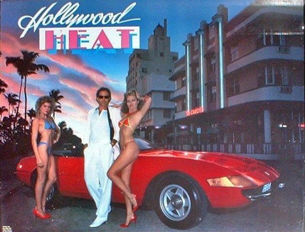 Hollywood Heat Pinball Mods