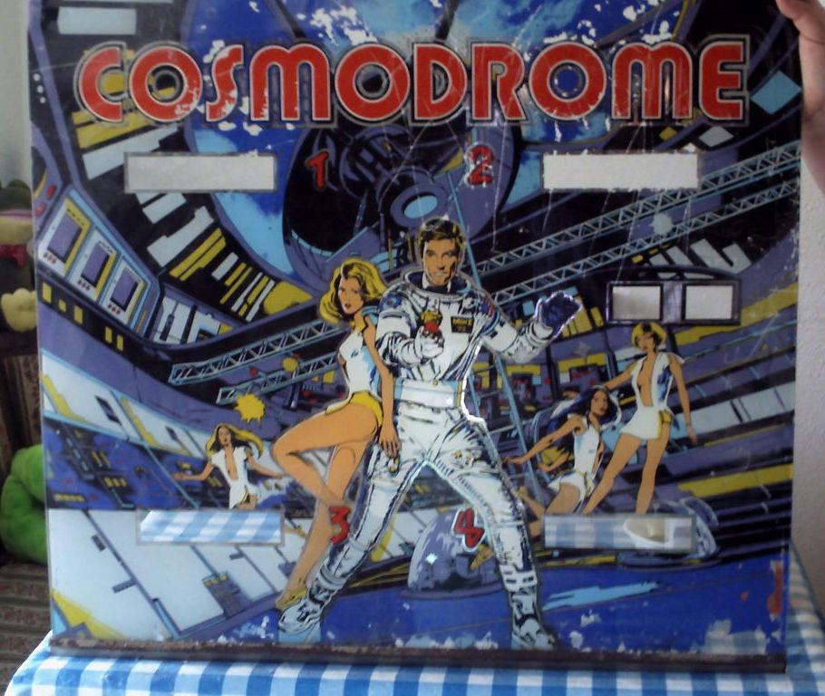 Cosmodrome Pinball Mods