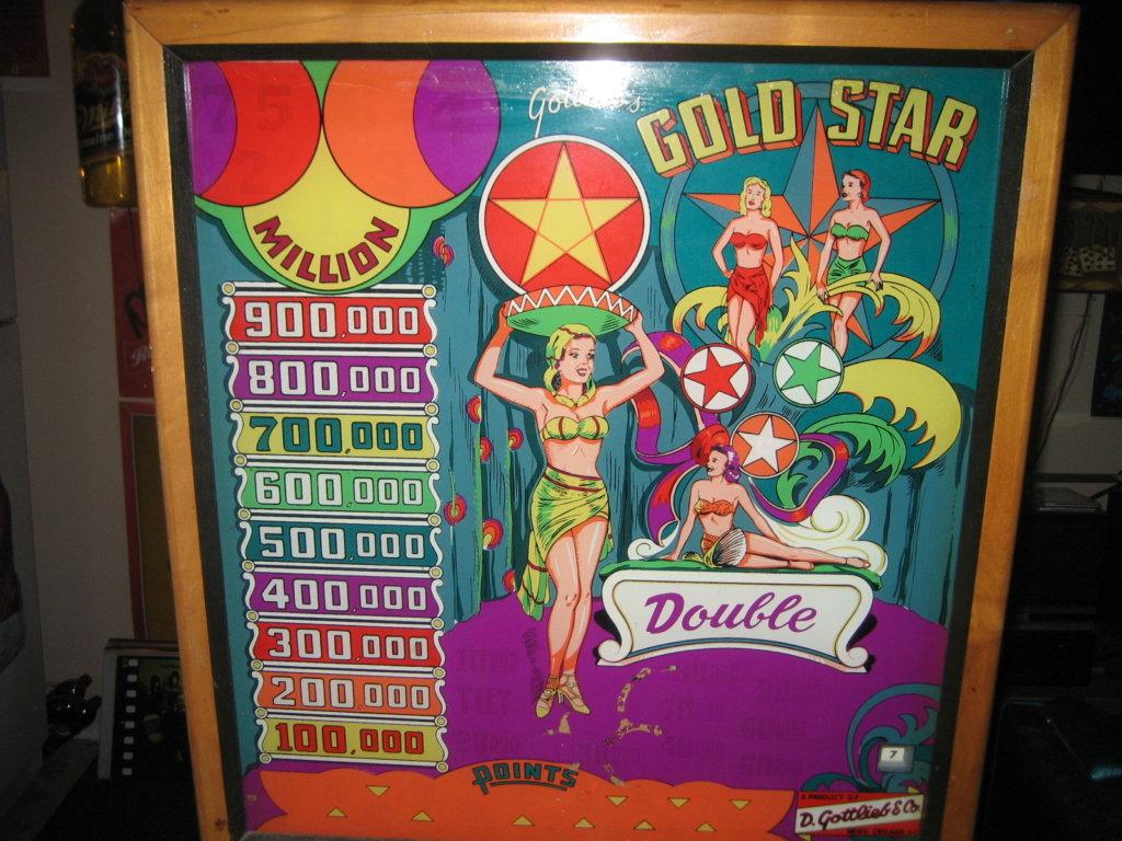 Gold Star Pinball Mods