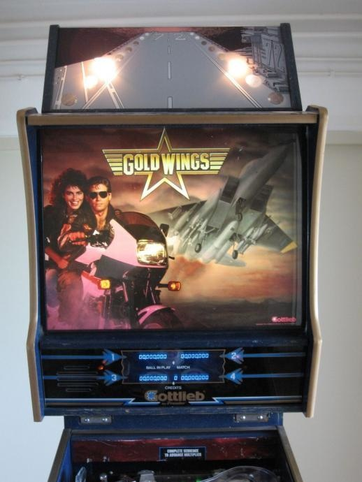 Gold Wings Pinball Mods