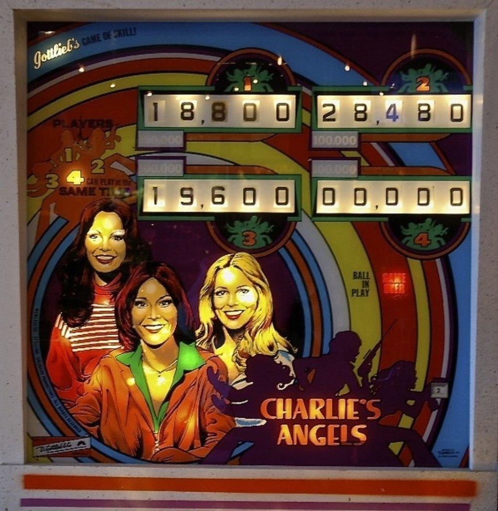 Charlie's Angels EM Pinball Mods