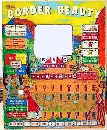 Border Beauty Pinball Mods