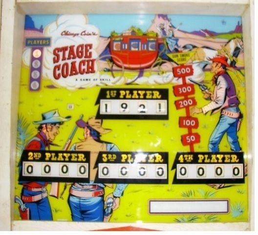 Stage Coach Pinball Mods