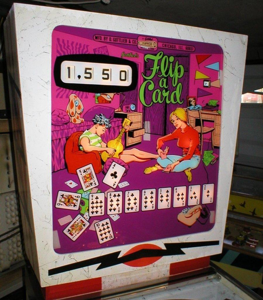 Flip-A-Card Pinball Mods