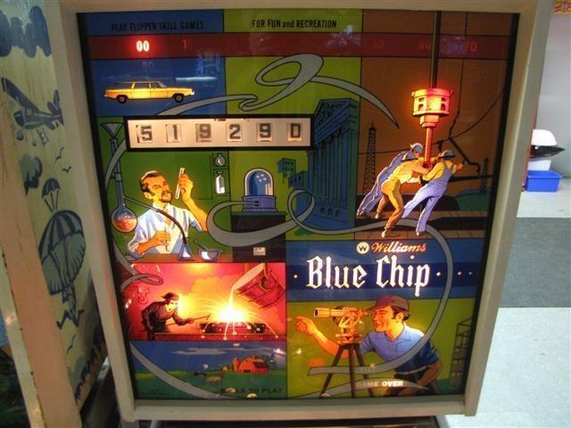 Blue Chip Pinball Mods