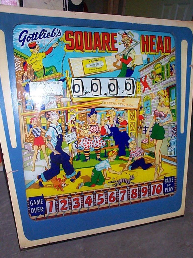 Square Head Pinball Mods