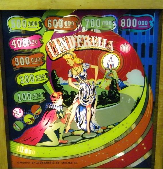 Cinderella Pinball Mods