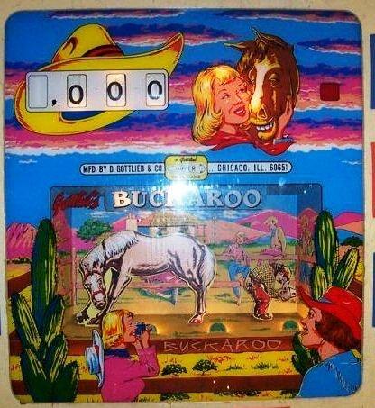 Buckaroo Pinball Mods
