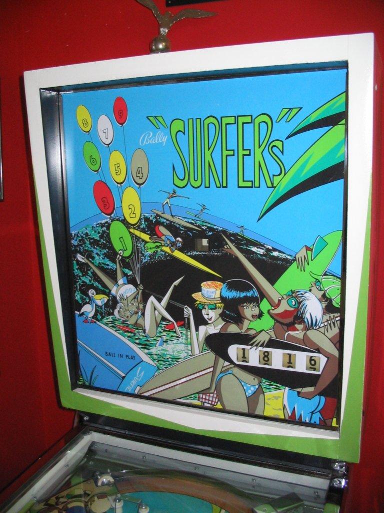 Surfers Pinball Mods