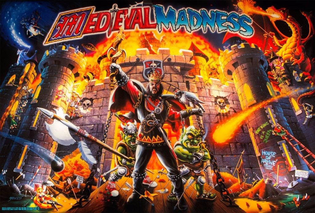 Medieval Madness (Remake - Standard) Pinball Mods