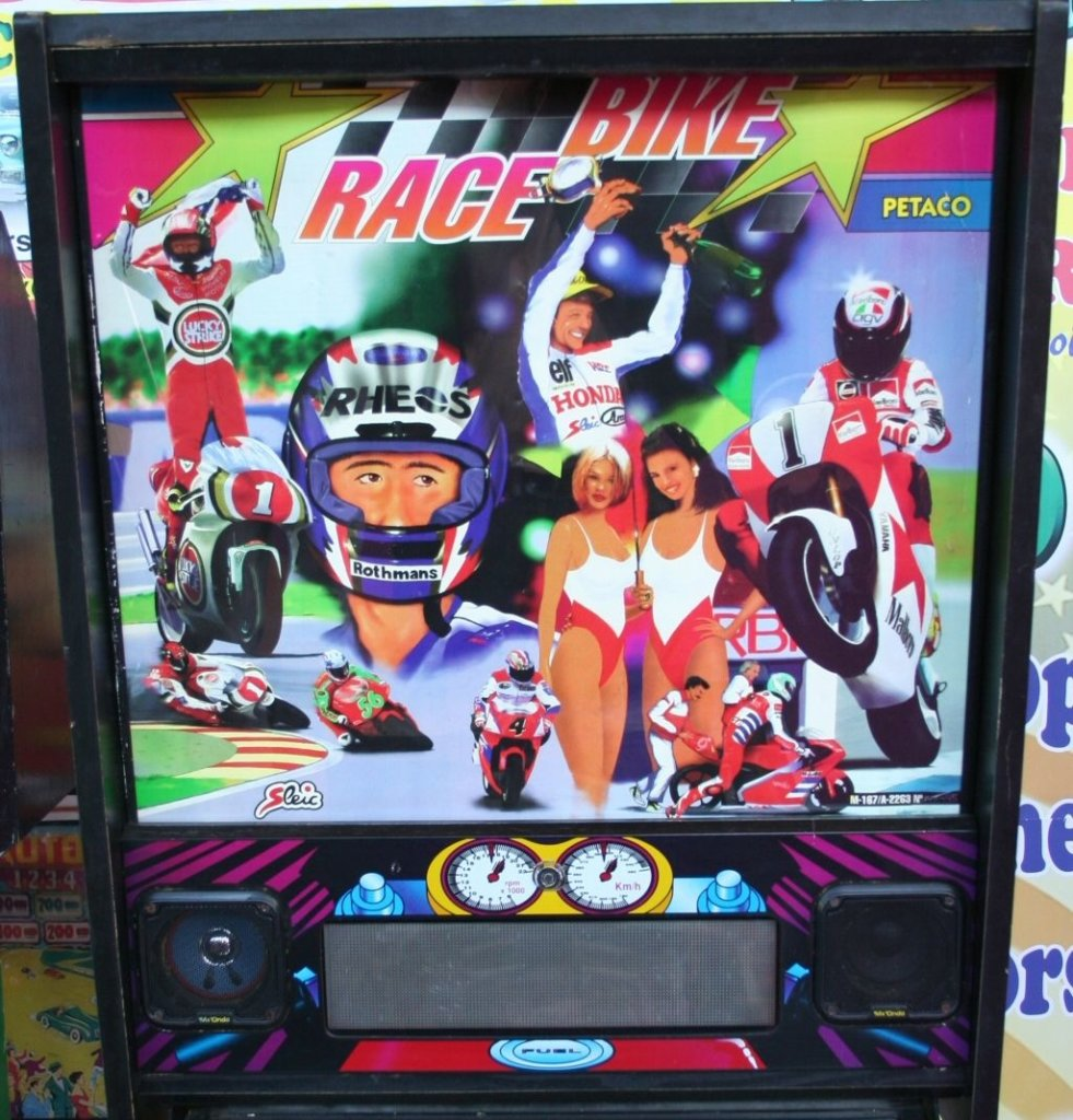 Bike Race Pinball Mods
