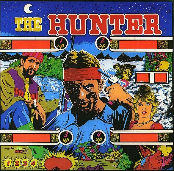 Hunter, The Pinball Mods
