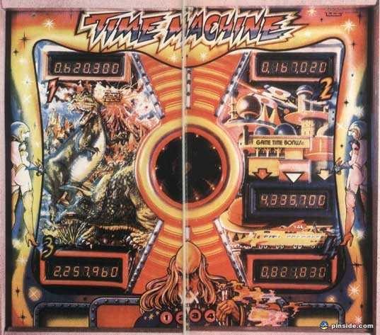 Time Machine Pinball Mods