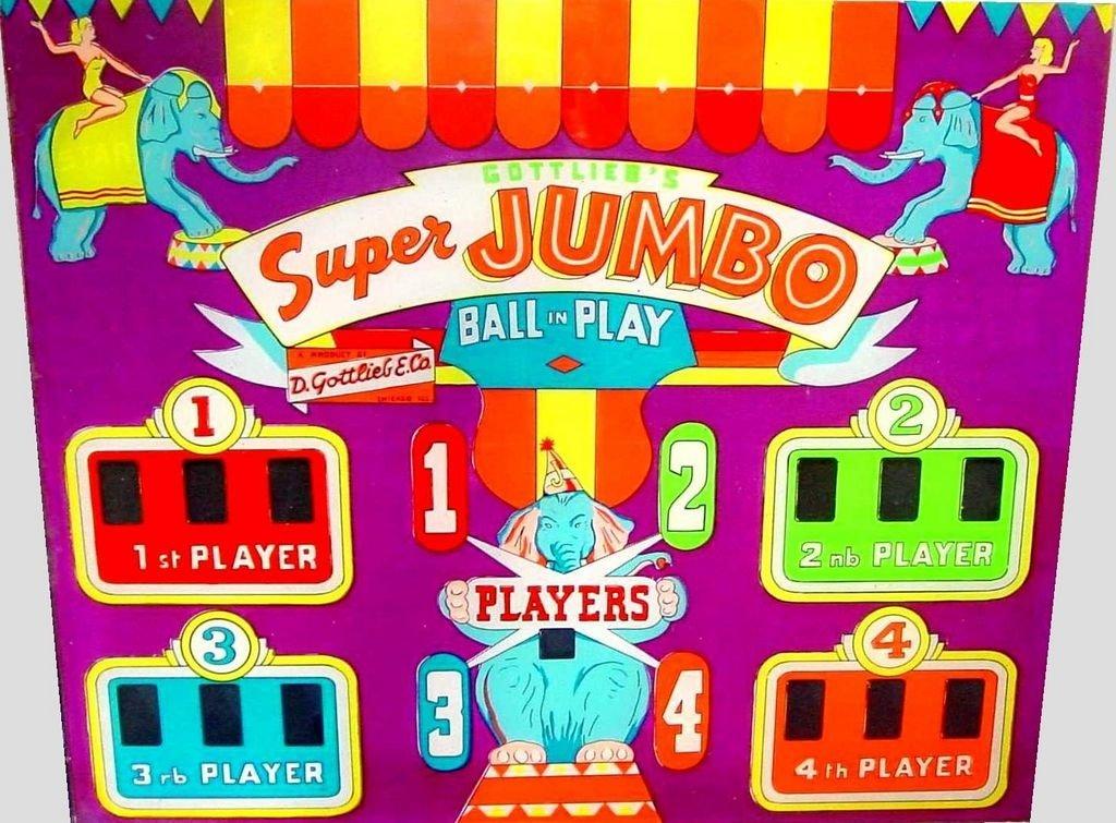 Super Jumbo Pinball Mods