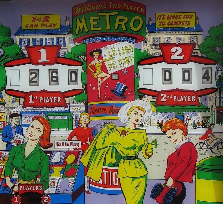 Metro Pinball Mods