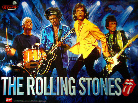 The Rolling Stones Pinball Mods