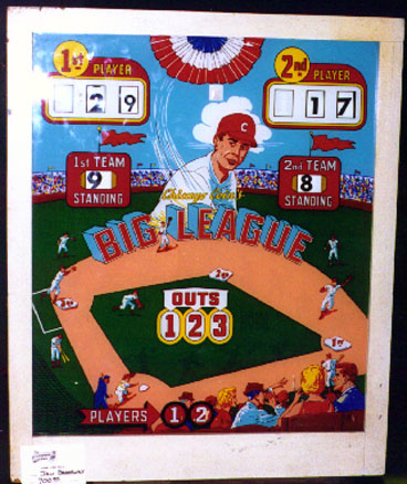 Big League Baseball Pinball Mods