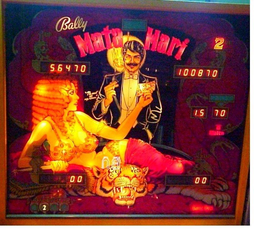 Mata Hari Pinball Mods