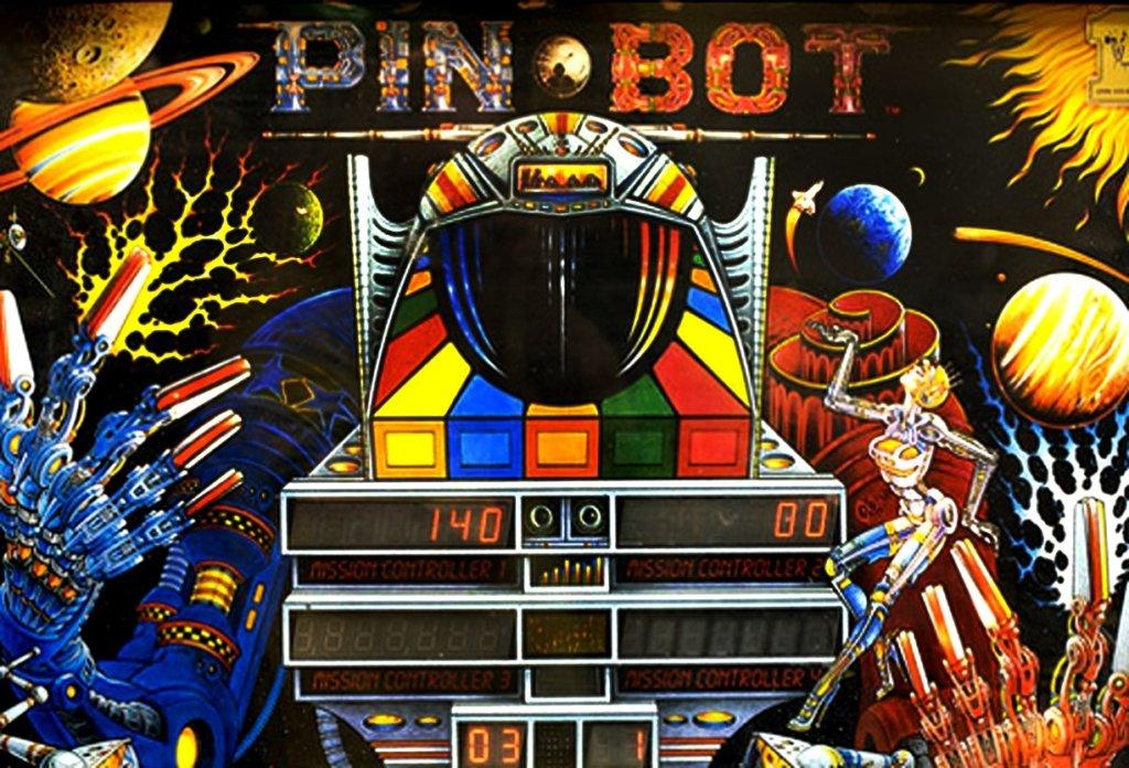 Pinbot Pinball Mods