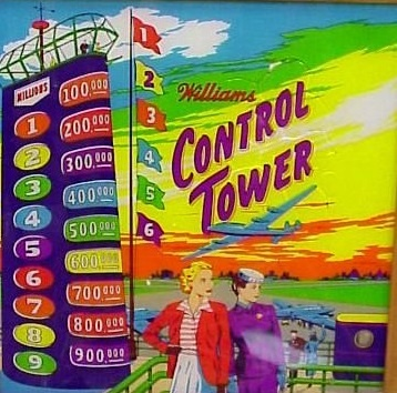 Control Tower Pinball Mods