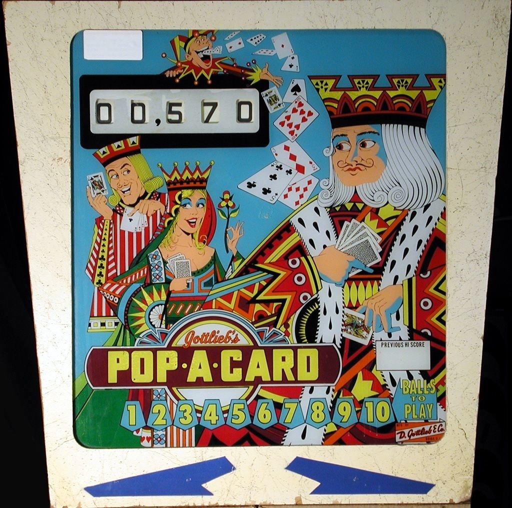 Pop-A-Card Pinball Mods