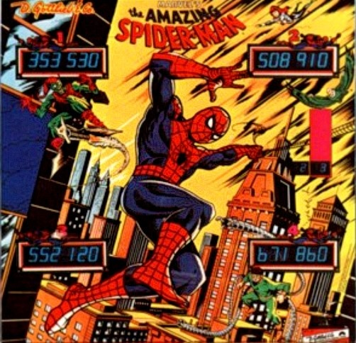 Spider-Man, The Amazing Pinball Mods