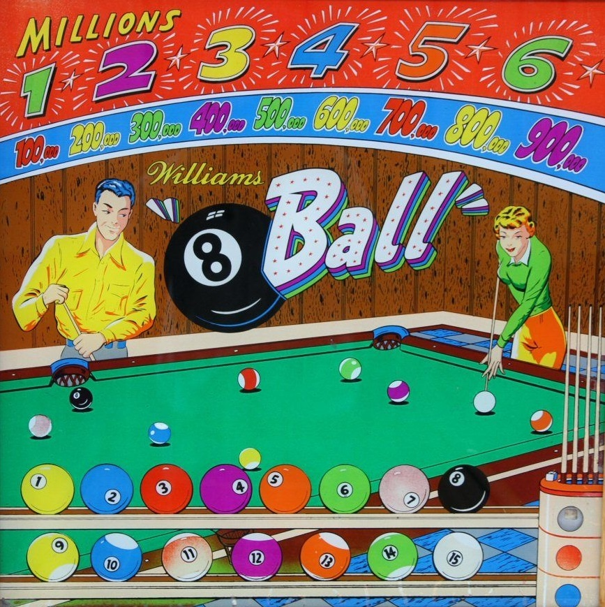 8 Ball Pinball Mods