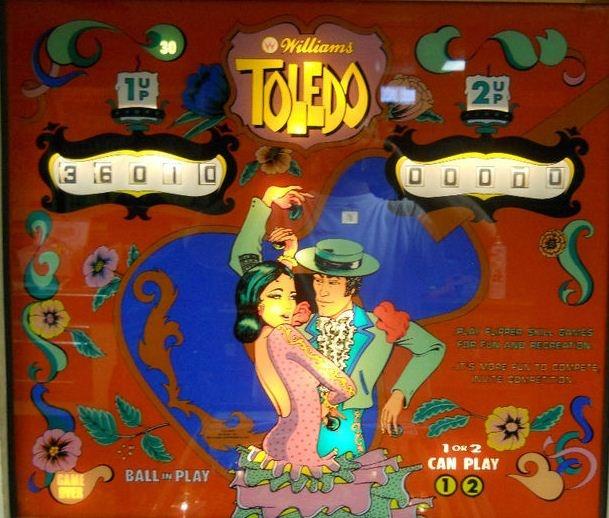 Toledo Pinball Mods