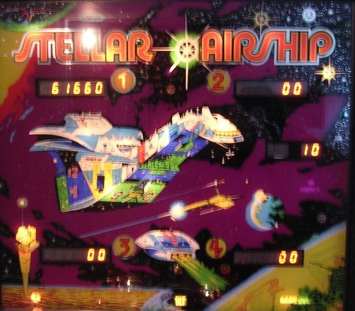 Stellar Airship Pinball Mods